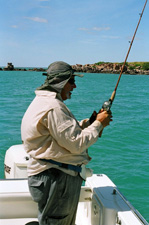 Fishing in Northern Territory.
