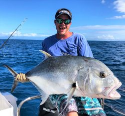 Fishing Giant Trevally in QLD