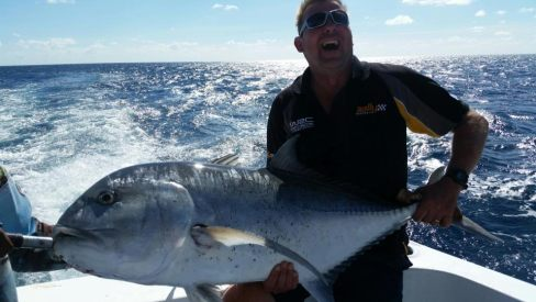 Deep sea fishing in a Queensland.