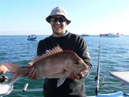 Melbourne fishing charter.
