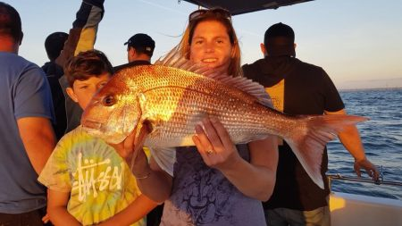 St Kilda snapper fishing charter.
