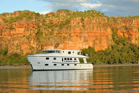 Fishing for in the Kimberley.